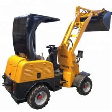 electric wheel loader ROPS low price