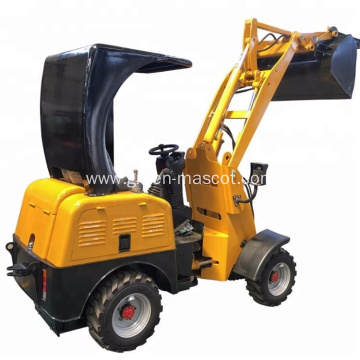 HULK0.6 Ton Electric Wheel Loader ROPS Low Price