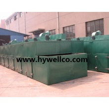 Continuous Type Pepper Slices Drying Machine