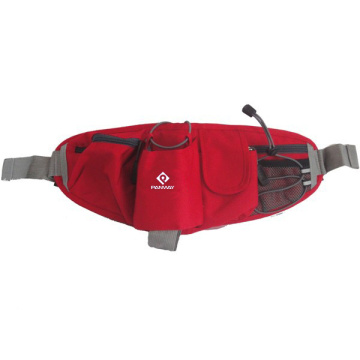 Light and Adjustable Outdoor Sport Climbing Cross Body  Waist Bag With Bottle Holder
