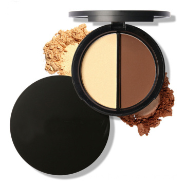 Private Label Bronzer contour blush powder makeup palette