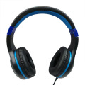 Custom Color Stereo Wired Adjustable Soft Earmuffs Headphone