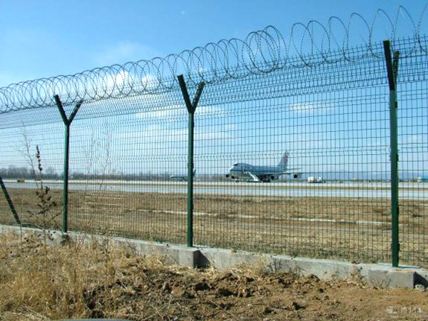 High Quality Galvanized Airport Fence Safety Fence