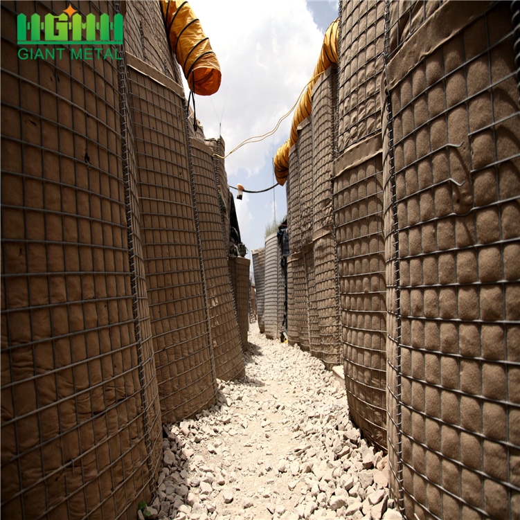 Defensive bastion hesco barriers for military Army