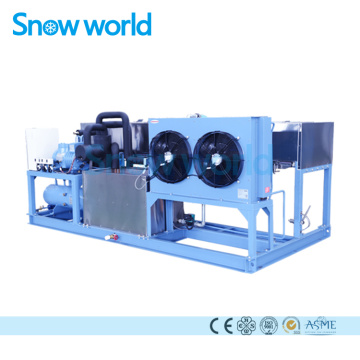 Snow world Ice Block Making Machine 1T