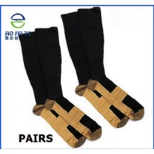 Customized for Transparent Ankle Socks Padded white ankle socks protector guard strap export to Spain Factories