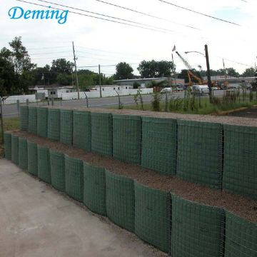 4.0mm Deep Galvanized Welded Defensive Barrier