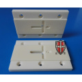 alumina ceramic insulator plate electronic parts with holes