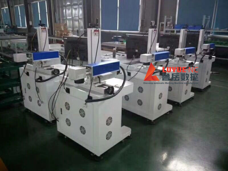 Perfect Marking Effect Rotating Laser Engraving Machine