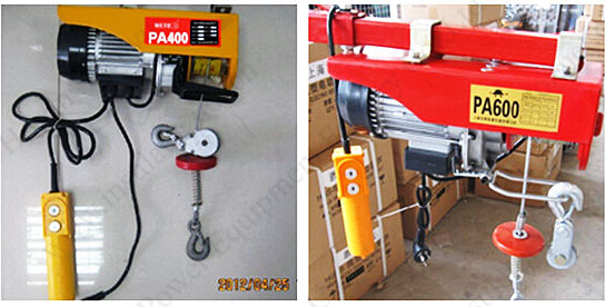 Electric Hoist Crane 1Ton Hoist Lifting