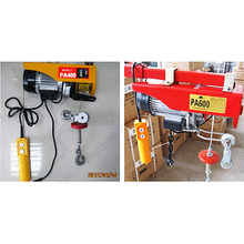ODM for PA Mini Wire Rope Electric Hoist Professional Cheap 220v 600kg PA mini electric hoist export to Spain Factory