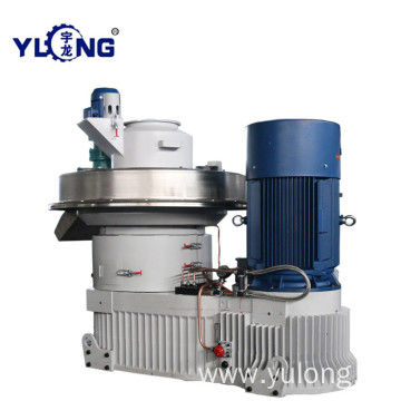 YULONG XGJ560 biomass eucalyptus wood pellet mill machine