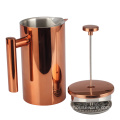 Stainless Steel Double Wall French Press Coffee Maker