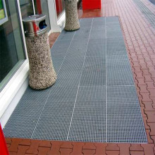 Steel Grating Entrance Door Mat