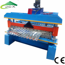 Corrugated iron making machine