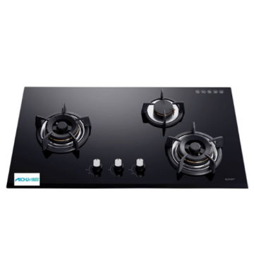Inner 3-Burner Built-in Gas Hob Glass