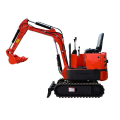 Mesin pertanian mini 360 derajat swing excavator