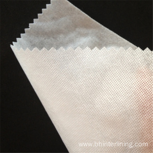 PVA cold water soluble interlining for wedding dress