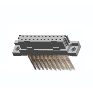Vertical Female Type Press-Fit DIN 41612 Connector