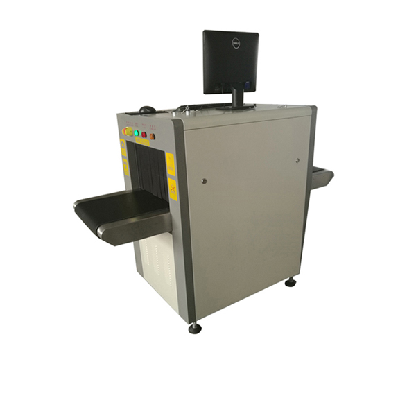 mini x-ray baggage scanner
