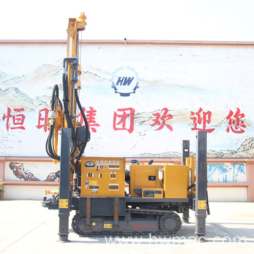 Crawiler Pneumatic Top Hammer Rock Drilling Rig