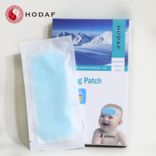 Professional for Menthol Cooling Patches brand fever reducing cooling gel patch for kids export to Nauru Manufacturer
