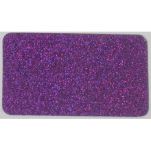 Glitter Laser Dark Purple L304