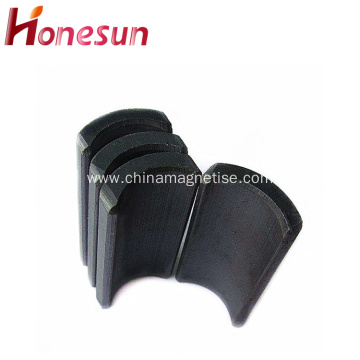 Permanent Sintered Hard Ferrite Arc Magnet for Motor