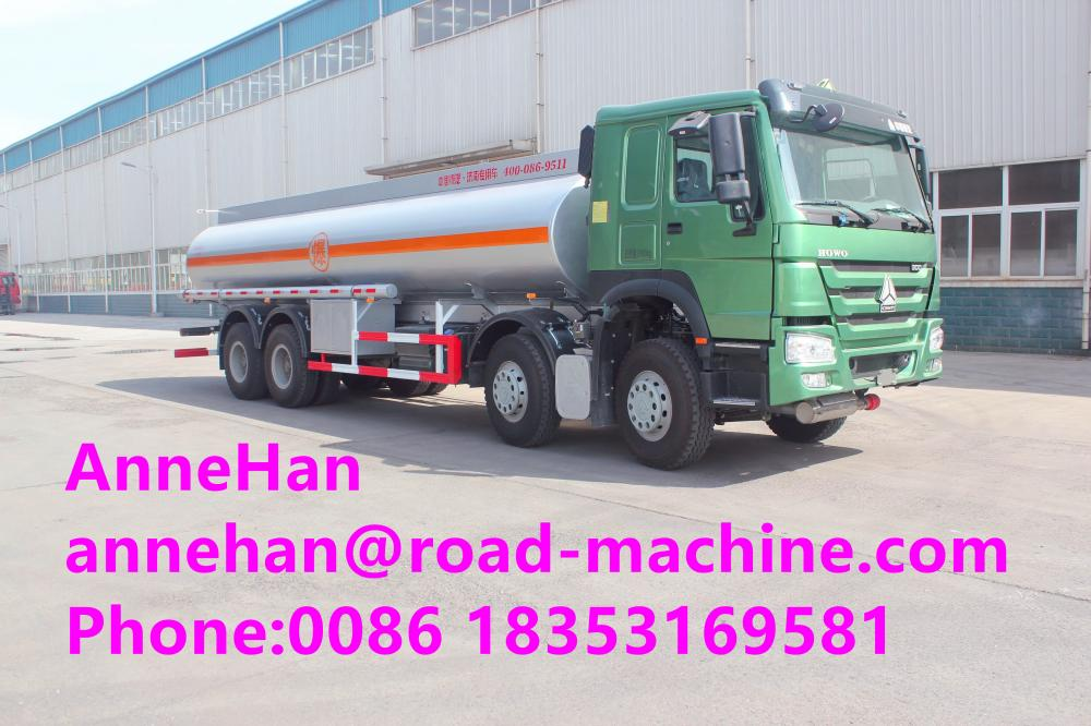 oil tank truck of sinotruk howo7 12 wheels