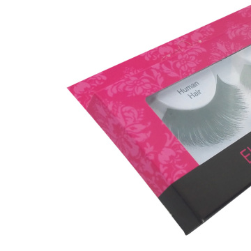 Wholesale Custom Cute PVC Window Eyelash Packaging Box