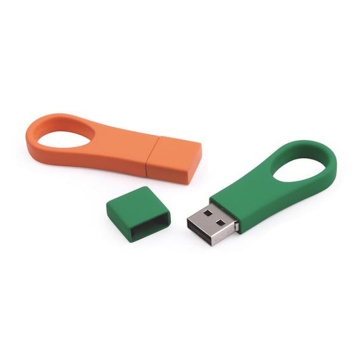 Mini Plastic Keychain USB-Stick