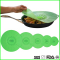 Fashion Durable Suction Silicone Lids Set