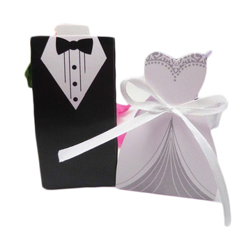 Wholesale Gift Small Candy Box Wedding Gown Box