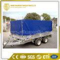 Black Durable Tarpaulin Trailer Cover