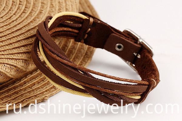 Custom Leather Bracelets
