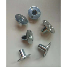 Full thread stamping Zinc plated Three holes nut
