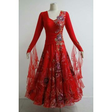 China New Product for Ladies Ballroom Prom Dress Womens ballroom dance dresses supply to Kyrgyzstan Importers