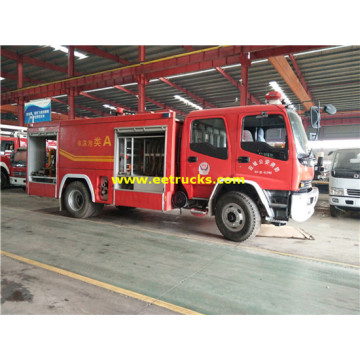 ISUZU 6000 Litres Diecast Fire Fighting Trucks