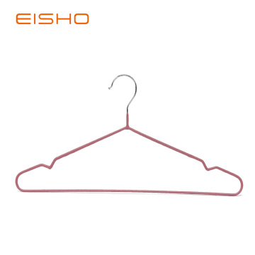 EISHO Adult PVC Coated Wire Hanger