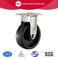PU Plate Fixed Stainless Steel Caster