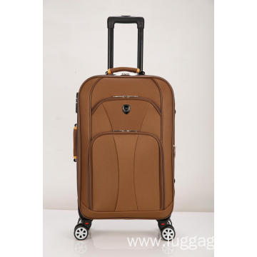 Camel color Rolling luggage softside