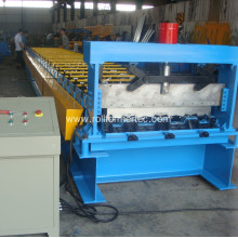 Steel construction material deck floor production mill