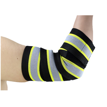 Adjustable breathable elbow brace