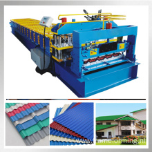 780 glazed tile roofing machine steel roofing roll forming machine