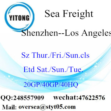 Shenzhen Port Sea Freight Shipping To Los Angeles