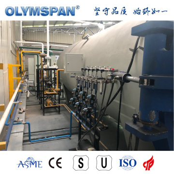 ASME standard composite part autoclave