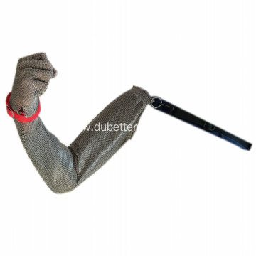 Stainless Steel Shoulder Length Ring Mesh Gloves