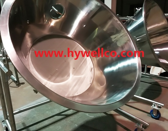 Powder Fluidizing Drying Machine