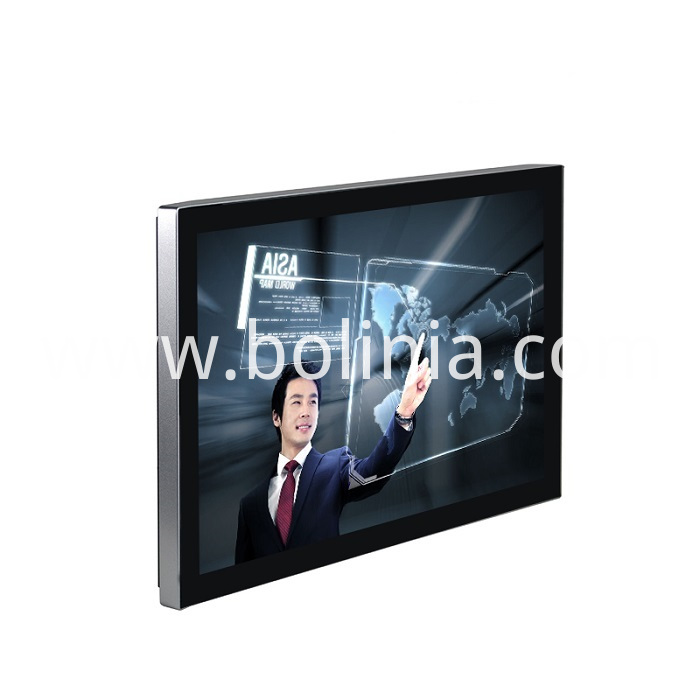 Widescreen PCAP Touch Monitor