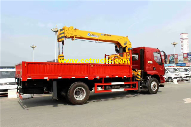 6 Ton Truck with Cranes